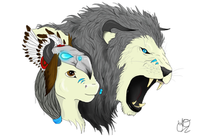 Dual Personalities: Colored by TiaMariie