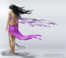in the breeze girl by abhijithvb