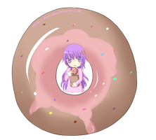 Donut Girl by Alice-Keys