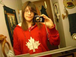 Canada Hoodie by CrystalTheTaco