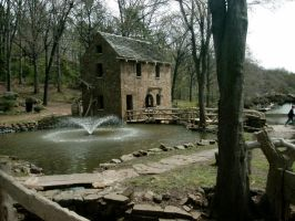 Little Rock - Old Mill 4 by ketchup311