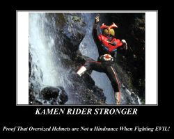 Proof of Kamen Rider Stronger by NeonGenesisGuyverIII