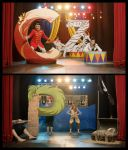 Life in the Land of Letters: Circus/Zebra/Pirates by ZombieArmadillo
