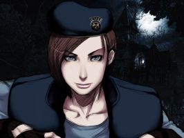 Jill Valentine wallpaper 8 by ethaclane