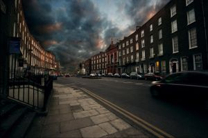 Clouds Over The Old Crescent by KeithHogan