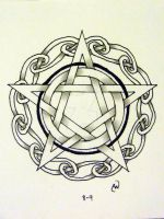 Pentacle 2 by IrishArtiste