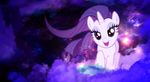 Clouds - Rarity Wallpaper (MLP: FiM) by allwat