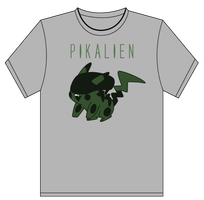 PikAlien T-shirt by Nox-dl