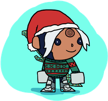 Fan Skin - Christmas Sweater Val by Clunse