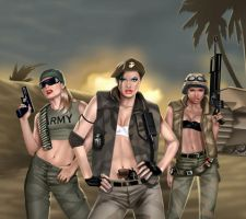 ARMY BABES by GARV23