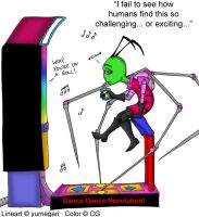 Zim on DDR by cgaussie