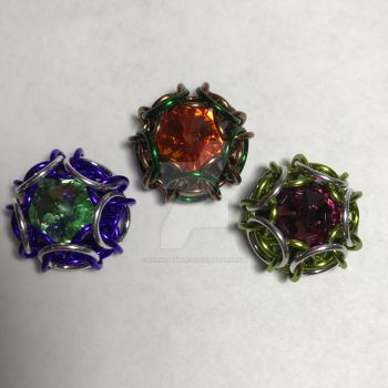 World of Warcraft inspired class pendants by NephsJewelry