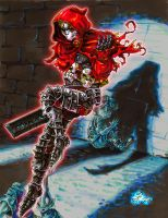 Jack of Blades Hommage red by DocIwill