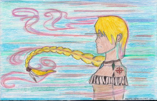 Kaneli can paint with the colors of the wind by Azari13