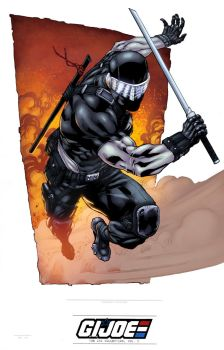 Snake Eyes Color by logicfun