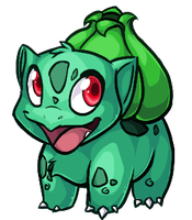Bulbasaur by Aorio