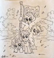 Cutie Mark Crusaders! (WIP3) by RedApropos