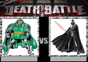 Death battle-Dr. Doom vs. Darth Vader by Tatsunokoisthebest