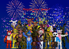 Happy New years!  by countmustard