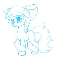 Doodle : Apple Bloom by mrs1989