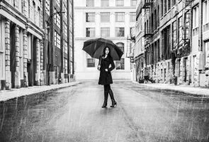 Classic Rain by Stephanie-van-Rijn