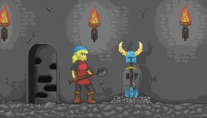 Pay your respects on the Shovel Shrine by onean