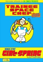 Trainee Space Chef comic cover by m99art