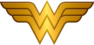 Metalic Wonder Woman logo request by KalEl7