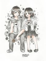 Black and White With Specks of Gray by fantasyvocaloid