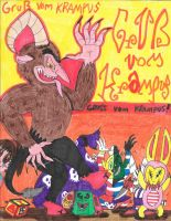 Greetings From The Krampus! by JCSStudio