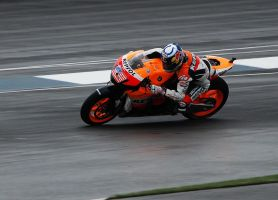 Nicky Hayden Indianapolis MotoGP 2008 by sugoidave