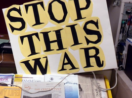 Stop This War by reddartfrog