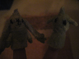 Finger puppets by PipecleanerFTW