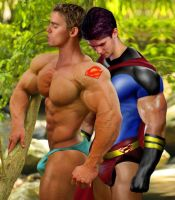 Superboy In Love by DRCh