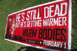 !0 foot Warm Bodies banner by aliencatx