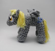 Edited Derpy Hooves ami by gwilly-crochet