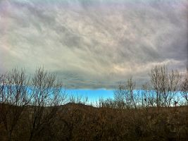 clouds rising from the foothills by mudyfrog