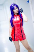 Misato Katsuragi Red dress III by misatomireille