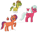 MLP Egg Adopts: Hatched! by RaindropLily