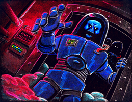 Beware the Ghost Men of Pluto by brothersdude