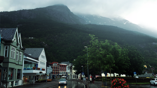 Quiet Mountain Town by RockLou