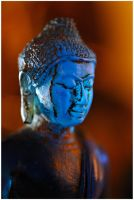 Blue Bouddha 3 by MissUmlaut