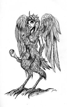 Hunga the Harpy by Shadsie