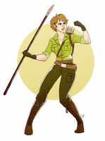 Lady Jaye by rollingrabbit