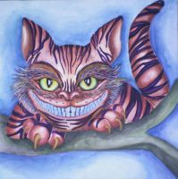 Cheshire Cat by EtShadow