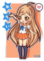 Culture Japan - Mirai Suenaga by Akage-no-Hime