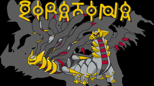 Giratina Background by JCast639