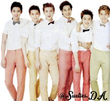 17.9.2013 PNG EXO-K  - BY SU GROWL by suetics