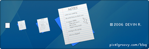 Notes Icon by pixelpixiegroove