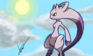 New mewtwo form? by icaro382